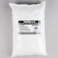 Carnival King Non-Dairy Vanilla Soft Serve Ice Cream Mix - (6) 6 lb. Bags / Case