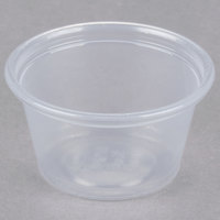 Dart Solo Conex Complements 075PC 0.75 oz. Translucent Plastic Souffle / Portion Cup - 125 / Pack