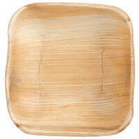 Eco-gecko Sustainable 5 inch Square Palm Leaf Bowl 100 / Case