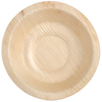 Eco-gecko Sustainable 4 inch Round Palm Leaf Bowl 200 / Case