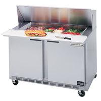 Beverage Air SPE48-12M 48 inch Mega Top Refrigerated Salad / Sandwich Prep Table
