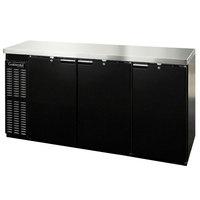 Continental Refrigerator BBC79 79 inch Solid Door Back Bar Refrigerator