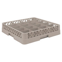Vollrath TR5 Traex Full-Size Beige 20-Compartment 3 inch Cup Rack