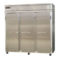 Continental Refrigerator 3F-HD 78 inch Solid Half Door Reach-In Freezer