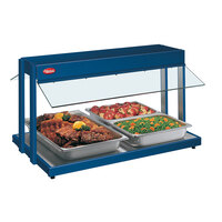 Hatco GRBW-66 66 inch Glo-Ray Navy Blue Buffet Warmer with Toggle Controls - 2860W