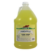 Fox's Pineapple Slush Syrup - 1 Gallon Container