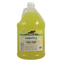 Fox's Pineapple Slush Syrup - 1 Gallon Container
