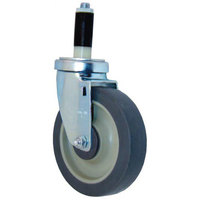 All Points 26-2398 5 inch Swivel Stem Caster for 1 inch O.D. Tubing - 300 lb. Capacity