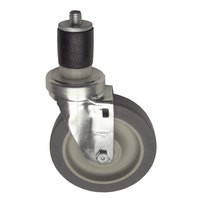 All Points 26-2406 5 inch Swivel Stem Caster for 1 5/8 inch O.D. Tubing - 300 lb. Capacity