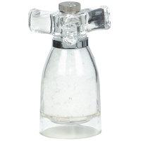 Chef Specialties 29932 4 1/2 inch Acrylic Spinner Salt Mill