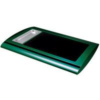 Hatco SRG-1 Hunter Green Serv-Rite Portable Heated Glass Buffet Warmer - 350W