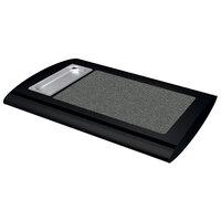 Hatco SRSS-1 Black Serv-Rite Portable Heated Night Sky Stone Buffet Warmer - 350W