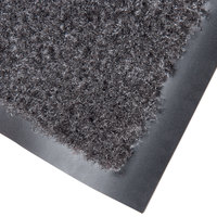 Cactus Mat 1437M-L46 Catalina Standard-Duty 4' x 6' Charcoal Olefin Carpet Entrance Floor Mat - 5/16 inch Thick
