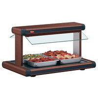 Hatco GR2BW-54 54 inch Glo-Ray Antique Copper Designer Buffet Warmer with Black Insets - 2290W