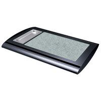 Hatco SRSS-1 Bold Black Serv-Rite Portable Heated Sawgrass Stone Buffet Warmer - 350W