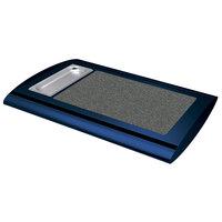 Hatco SRSS-1 Navy Blue Serv-Rite Portable Heated Gray Granite Stone Buffet Warmer - 350W