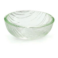 Tablecraft AB52 Cristal Collection 5 inch x 2 inch Acrylic Round Sauce Bowl - 12 / Pack