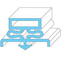 Traulsen 09503 Equivalent Rubber Magnetic Door Gasket - 21 5/8 inch x 59 3/4 inch