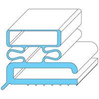 Traulsen SER-04505-00 Equivalent Rubber Magnetic Door Gasket - 23 1/2 inch x 59 1/2 inch