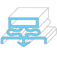 Traulsen 341-16970-00 Equivalent Rubber Magnetic Door Gasket - 23 1/2 inch x 23 1/2 inch