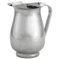 Tablecraft RP68 Remington 2 qt. Stainless Steel Beverage Pitcher with Ice Guard