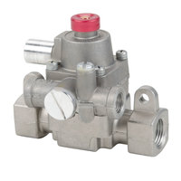 Garland / US Range G01479-01 Equivalent Safety Valve - 3/8 inch NPT, Gas In / Out: 3/8 inch, Pilot In / Out: 3/16 inch