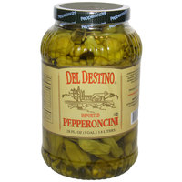Del Destino Pepperoncini - (4) 1 Gallon Containers / Case