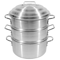 Town 34418S 18 inch 6.5 Gallon Aluminum Steamer Set