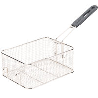 Avantco FBASKET 9 1/2 inch x 7 1/4 inch x 4 inch Fryer Basket with Front Hook
