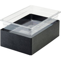 Cal-Mil BH4220-13 Black Folding Ice Housing - 12 inch x 20 inch x 6 inch