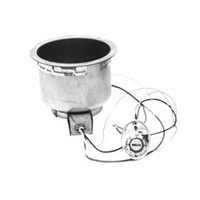 Wells SS8TUCI 7 Qt. Round Insulated Drop In Soup Well with Cord - Top Mount, Thermostatic Control