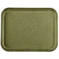 Carlisle 1410FG076 Customizable10 inch x 14 inch Glasteel Toffee Tan Fiberglass Tray - 12/Case