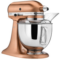 KitchenAid KSM152PSCP Satin Copper Custom Metallic Series 5 Qt. Countertop Mixer