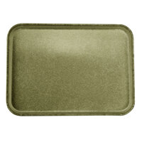 Carlisle 2216FGQ076 Customizable 16 inch x 22 inch Glasteel Toffee Tan Fiberglass Tray - 6/Case
