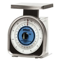 Rubbermaid Pelouze A012R 25 lb. / 10 kg. Mechanical Portion Control Scale - Dual Read (FGA012R)