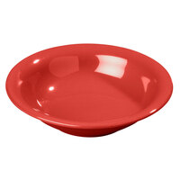 Carlisle 3303205 7 1/2 inch Red Sierrus 16 oz. Rimmed Bowl - 24/Case