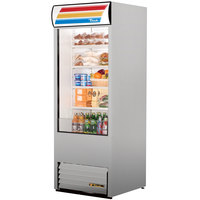 True TAC-30-LD 30 inch Stainless Steel Refrigerated Air Curtain Merchandiser - 25.5 Cu. Ft.