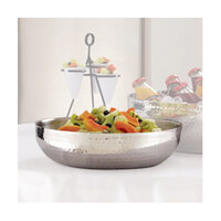 American Metalcraft HMDWB14 14 inch Double Wall Hammered Bowl