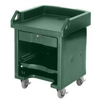 Cambro VCS519 Green Versa Cart with Standard Casters