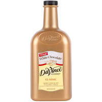 DaVinci Gourmet 1/2 Gallon White Chocolate Flavoring Sauce