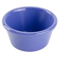 GET RM-400-PB Diamond Mardi Gras 4 oz. Peacock Blue Melamine Ramekin - 48/Case