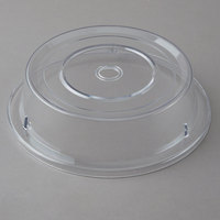 Cambro 1202CW152 Camwear 12 1/8 inch Clear Camcover Plate Cover - 12/Case