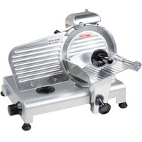 Avantco SL309 9 inch Manual Gravity Feed Meat Slicer - 1/4 hp