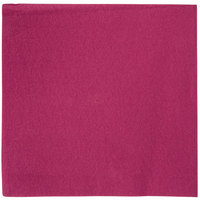 Hoffmaster FashnPoint 15 1/2 inch x 15 1/2 inch Burgundy 1/4 Fold Linen-Feel Dinner Napkin   - 800/Case