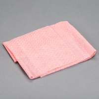 Chicopee 8294 Quix Plus 13 1/2 inch x 20 inch Pink Medium-Duty Sanitizing Foodservice Wiper - 72/Case