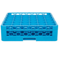 Carlisle RG36-114 OptiClean 36 Compartment Glass Rack with 1 Extender