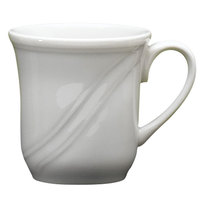 Homer Laughlin Lyrica 7.25 oz. American White (Ivory / Eggshell) China Cup - 36/Case