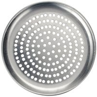 American Metalcraft HACTP9P 9 inch Perforated Heavy Weight Aluminum Coupe Pizza Pan