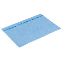 Chicopee 8243 Chix 13 inch x 21 inch Blue Medium-Duty Foodservice Wiper - 150/Case