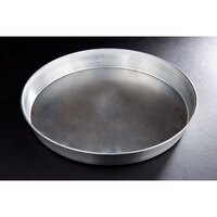 15 inch x 2 inch Tapered Aluminum Deep Dish Pizza Pan